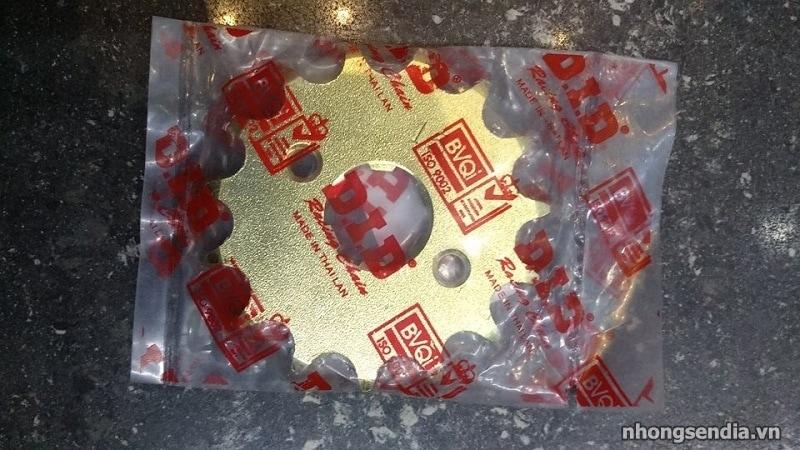 Nhông did vàng cho exciter 150 exciter 135 - 1
