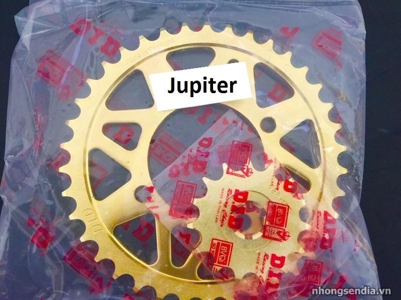 Nhông sên dĩa did vàng cho jupiter - 1