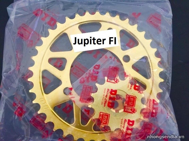 Nhông sên dĩa did vàng cho jupiter fi - 1