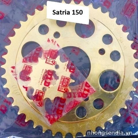 Nhông sên dĩa did vàng cho satria 150 - 2