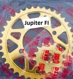 Nhông sên dĩa DID vàng cho Jupiter FI