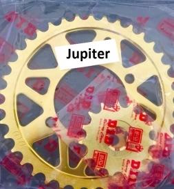 Nhông sên dĩa DID vàng cho Jupiter