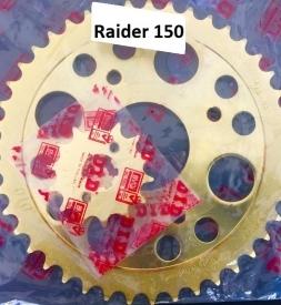 Nhông sên dĩa DID vàng cho Raider