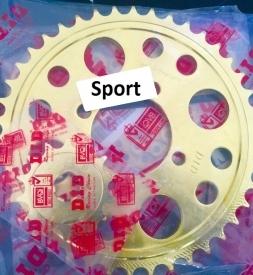 Nhông sên dĩa DID vàng cho Suzuki Sport